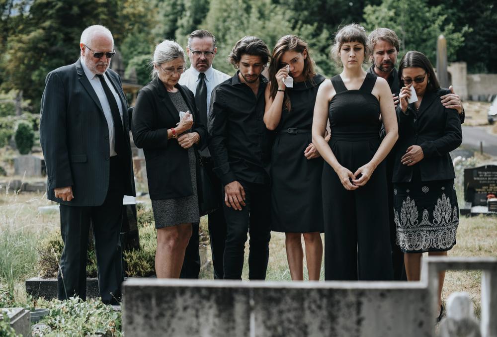 funérailles des parents